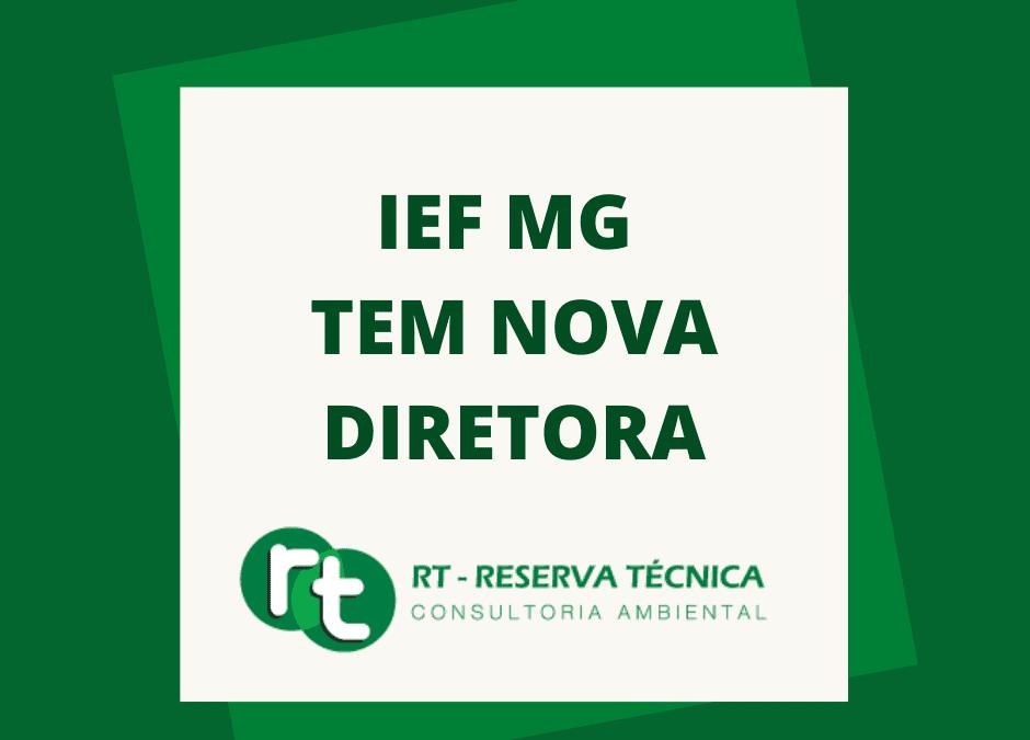 IEF MG tem nova diretora